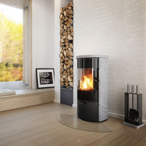 Rais Rina Soapstone Wood Burning Stove