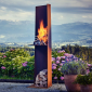 RAIS Angle Outdoor Fire